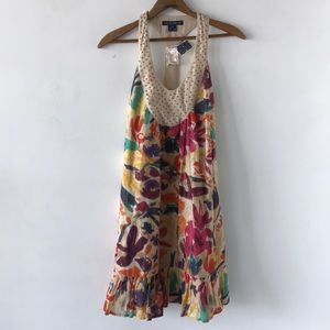 French Connection Floral  Loose Flare Dress
